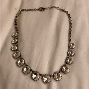 Crystal Silver Necklace